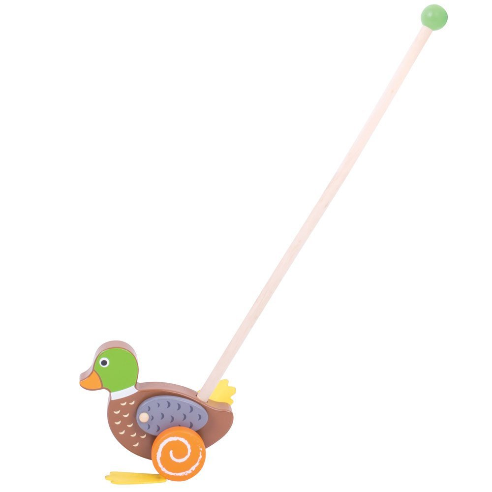 Wooden Duck Push Along - Walking Toys for Babies and Toddlers ...