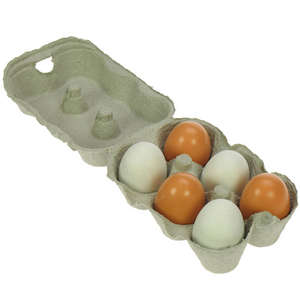 Bigjigs Eggs x 6