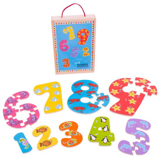 Bigjigs 1-9 Number Puzzle