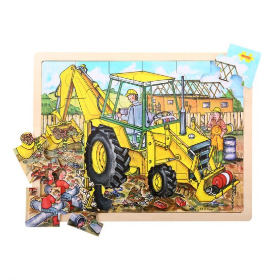 Bigjigs 24 Piece Tray Puzzle Digger