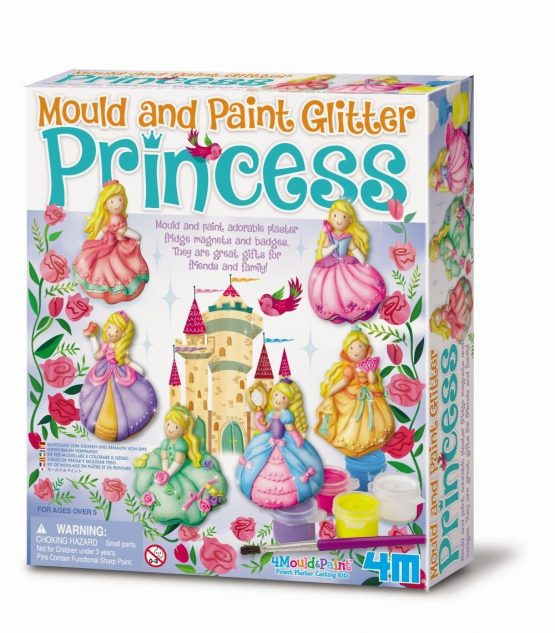 Mould and Paint Glitter Princess