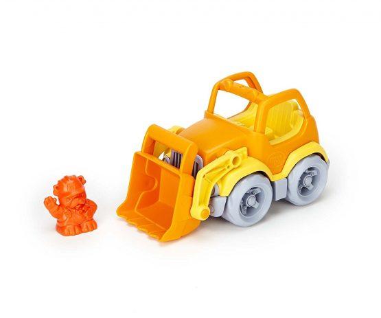 green toys Scooper Vehicle. Yellow/Orange