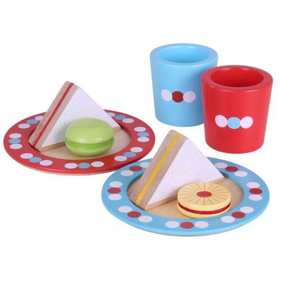 Bigjigs Wooden Tea Time Play Set