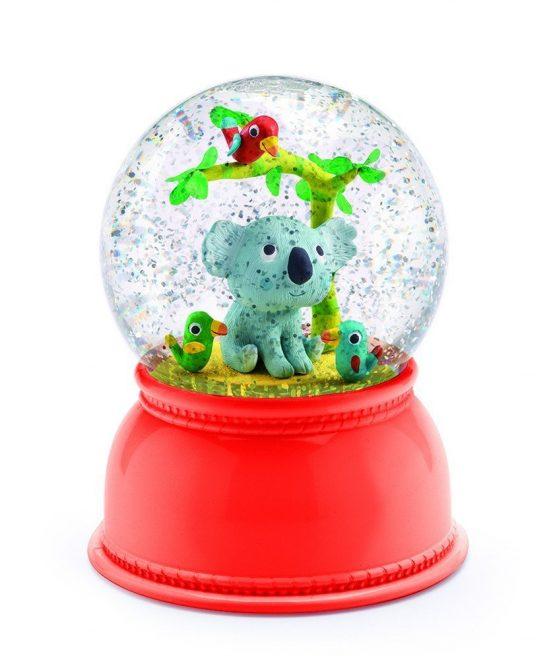 Koala Night Light Snow Globe -Djeco