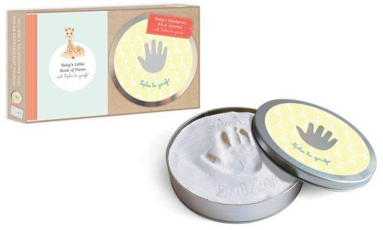 Baby Handprint Kit and journal by Sophie la Giraffe