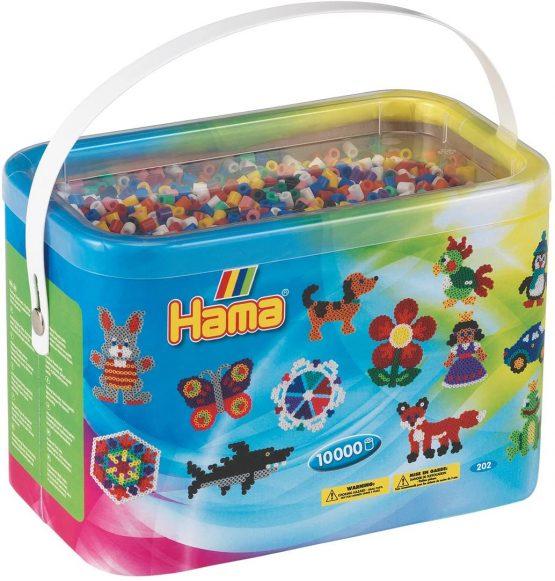 10,000 hama bead bucket