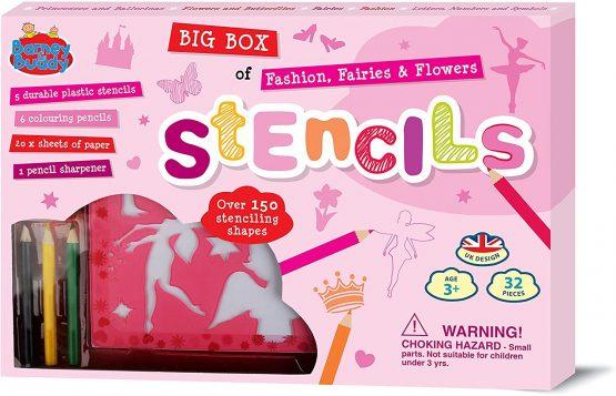 Big Box of Stencils Pink