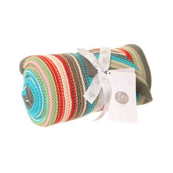 Ziggle Multicoloured Blanket