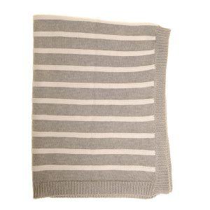 Ziggle Grey Blanket