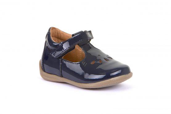 Froddo Girls Blue Patent G2140051-3