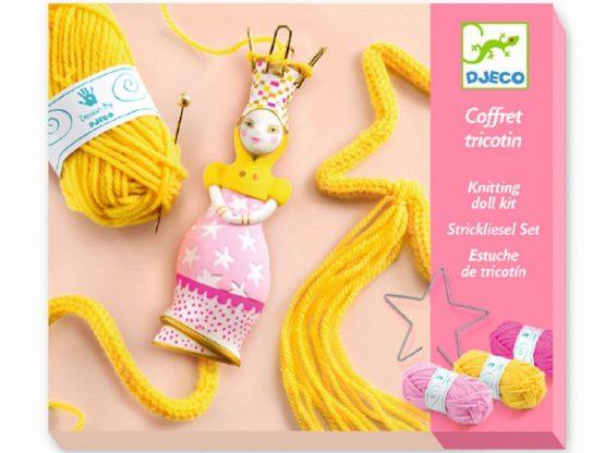 Djeco Knitting Doll Kit – Princess