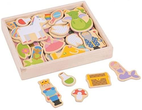 Bigjigs Toys Wooden Fantasy Magnets
