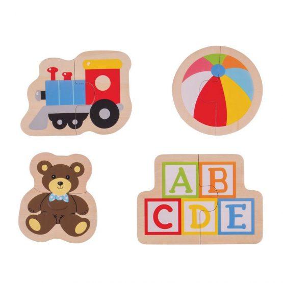 Bigjigs 2 piece puzzles Toys