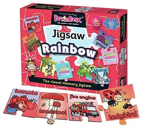 Brain Box Jigsaw Rainbow: The visual memory jigsaw