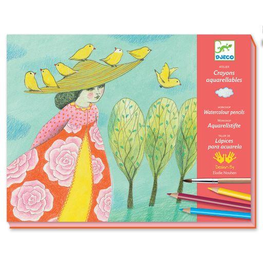 Djeco Watercolour Workshop – Close Calls