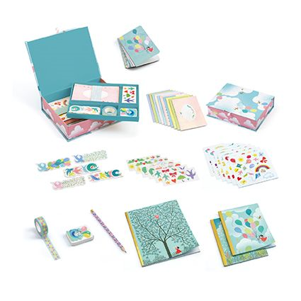 Djeco Charlotte Stationery Set