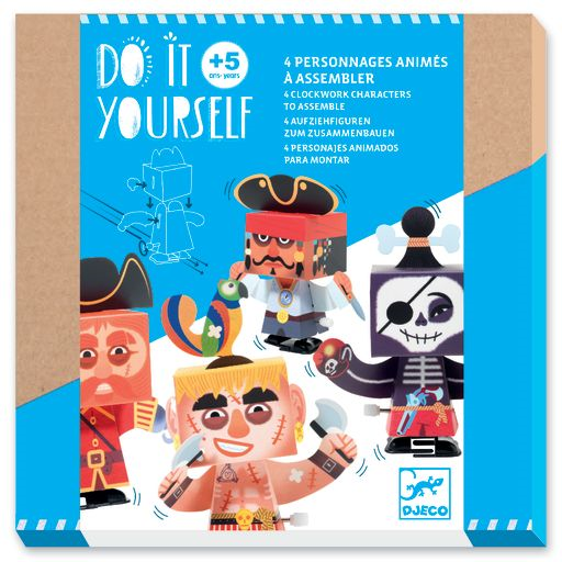 Djeco Do it Yourself – Clockwork Characters DJ07931