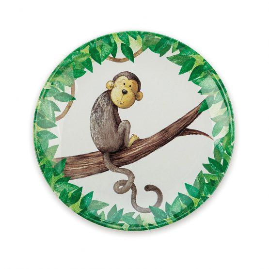Jellycat Mattie Monkey Melamine Plate