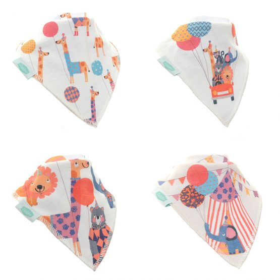 Zippy Bibs, Big Day Out Set (4 bibs)