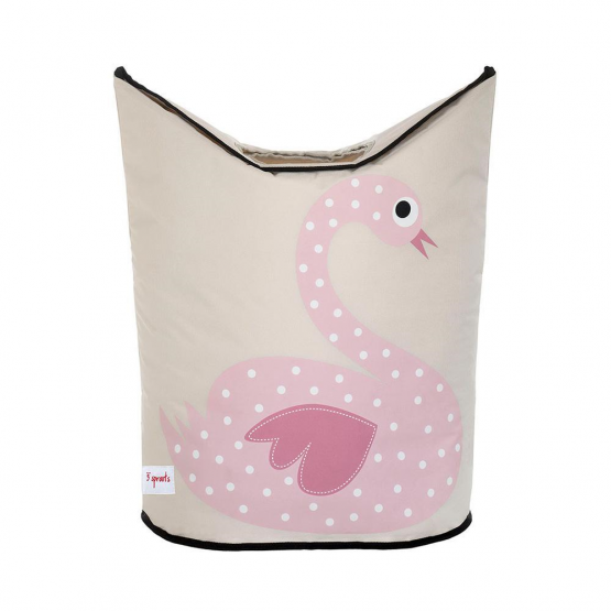 3 Sprouts laundry hamper (swan)