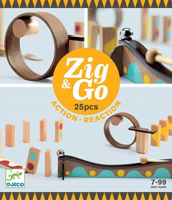 Djeco Zig & Go 25 Pieces