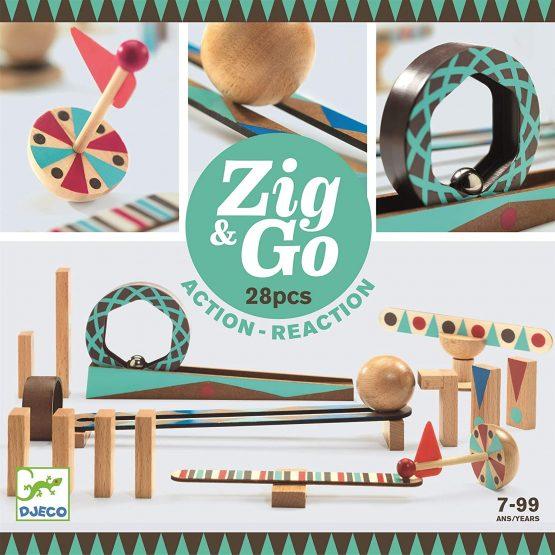 Djeco Zig and Go 28 Pieces