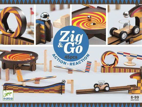 Djeco Zig & Go 45 Pieces
