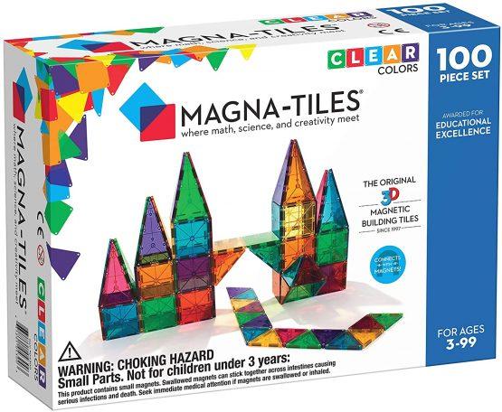 Magna-Tiles Translucent Colours 100 pieces