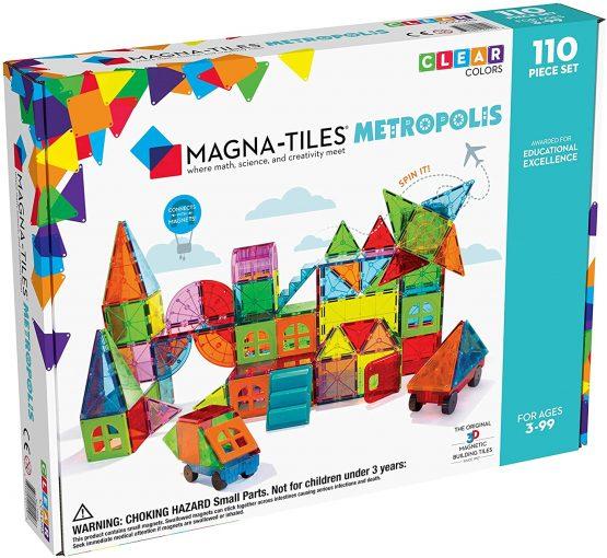 Magna Tiles Metropolis Set 110 pieces