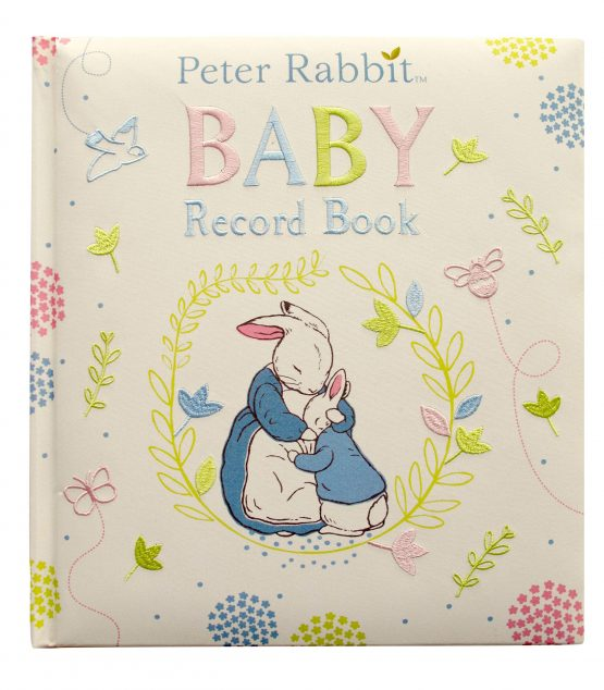 Peter Rabbit Baby Record Book Hardcover