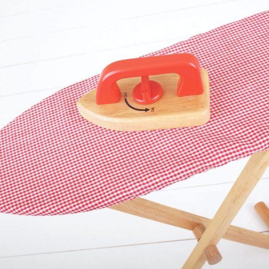 Bigjigs Toys Ironing Board and Iron Set