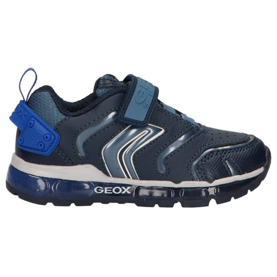 Geox Android Navy Boys Trainer Size 35