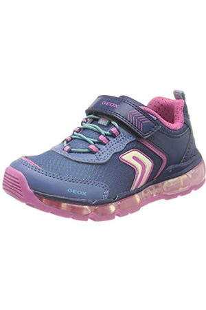 Geox Girls Navy Android Trainer Size 34