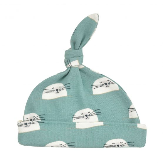 Knotted Hat Seal Ivy 0-5m