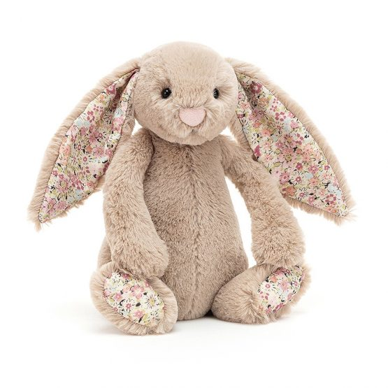 Jellycat Small Bashful Blossom Beige Bunny