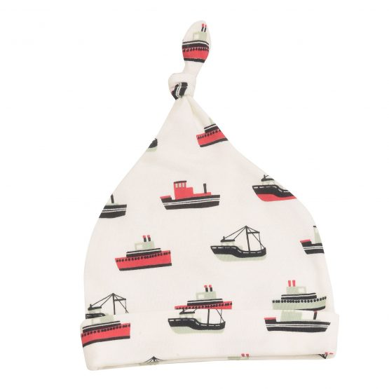 Knotted Hat Boats Red 0-5m