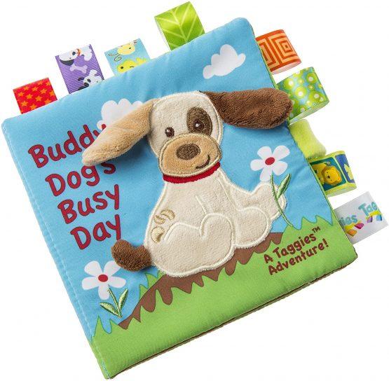 Taggies Buddy Dog Book Soft Toy