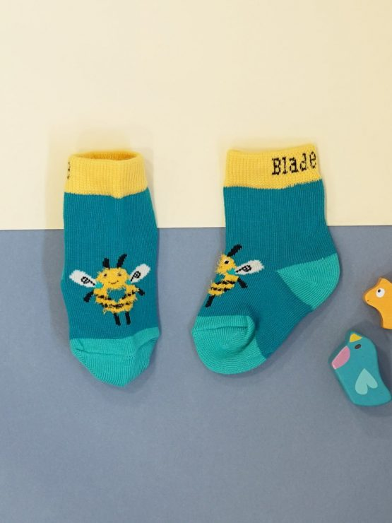 Blade and Rose Buzzy Bees Socks