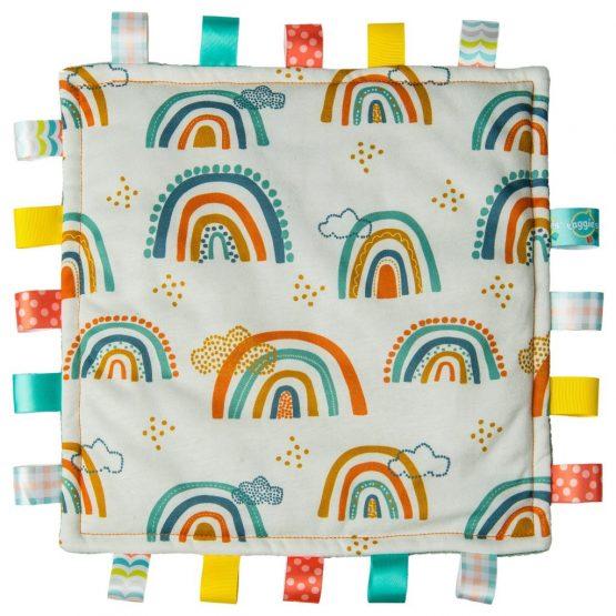 Taggies Original Comfy Blanket – Comfy Rainbow
