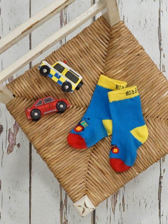 Blade and Rose Farmyard Tractor Socks