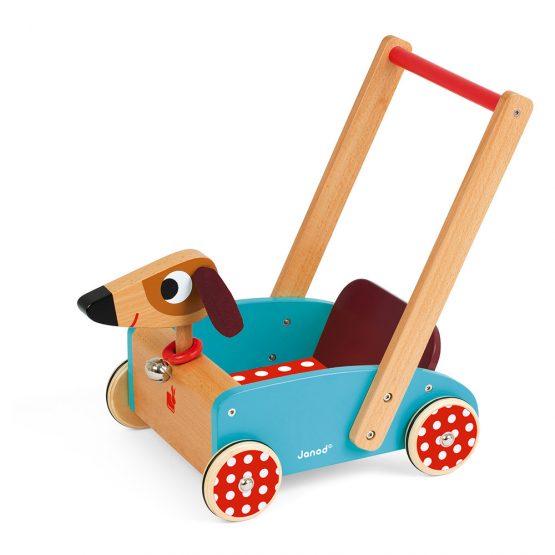 4. JANOD CRAZY DOGGY CART (WOOD)