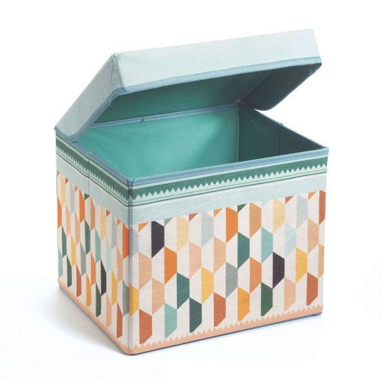 Djeco Seat Toy Box – Oriental