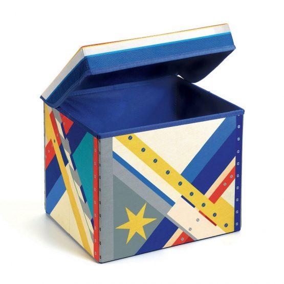 Djeco Seat Toy Box – Space