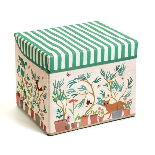 Djeco – Toy Storage Box – Garden