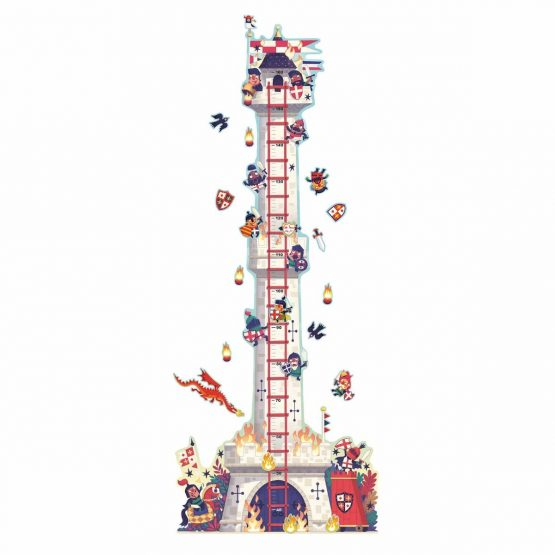 Djeco Little Big Room – Knights Tower Height Chart