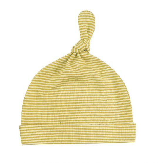 Pigeon organics Knotted Hat (Celery) 0-5 Months