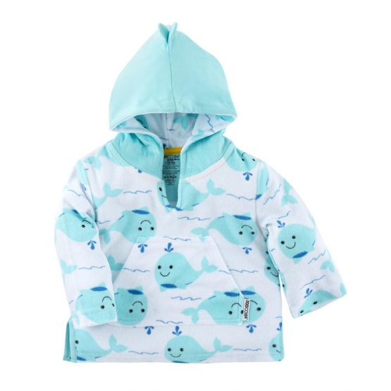 ZOOCCHINI UPF50+ SWIM COVERUP – WILLY THE WHALE
