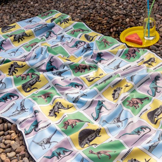 Dinosaur Microfibre Towel